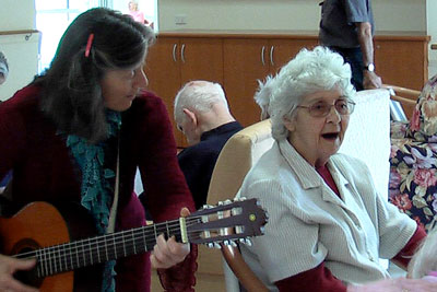music in aged care